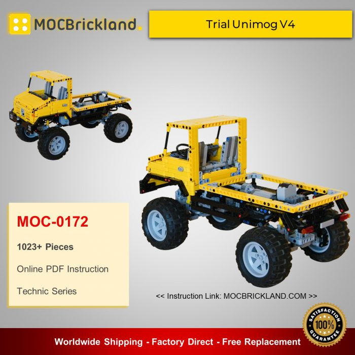 Technic MOC-0172 Trial Unimog V4 By Nico71 MOCBRICKLAND