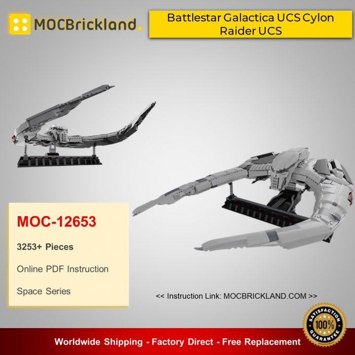 Space MOC-12653 Battlestar Galactica UCS Cylon Raider UCS By DavDupMOCs MOCBRICKLAND