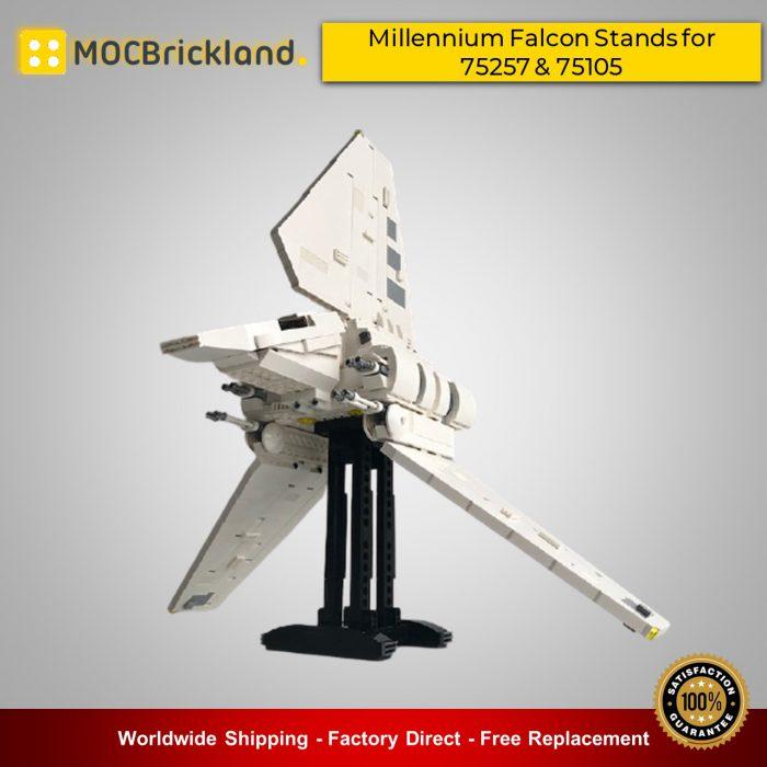 Star wars moc-17299 shuttle tydirium display stand - moc 75094 set by barneius mocbrickland