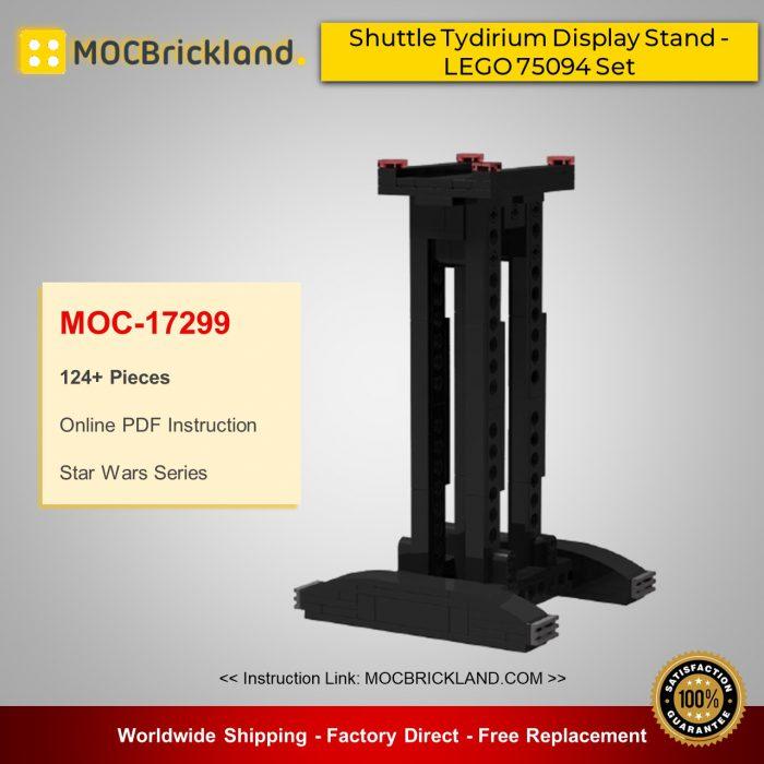 Star Wars MOC-17299 Shuttle Tydirium Display Stand - LEGO 75094 Set By barneius MOCBRICKLAND