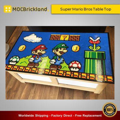 Super Mario MOC-22451 Super Mario Bros Table Top By mkibs MOCBRICKLAND