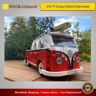 Creator MOC-23519 VW T1 Doka (10220 Alternate) By poljvd MOCBRICKLAND