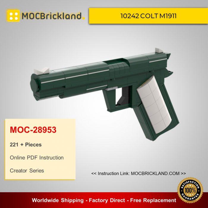 Creator moc-28953 10242 colt m1911 by fredl45 mocbrickland