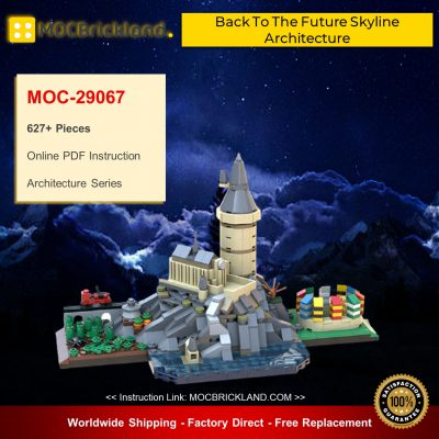 Architecture MOC-29067 Hօgwarts Skyline By benbuildslego MOCBRICKLAND