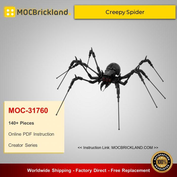 Creator MOC-31760 Creepy Spider By Victaven MOCBRICKLAND