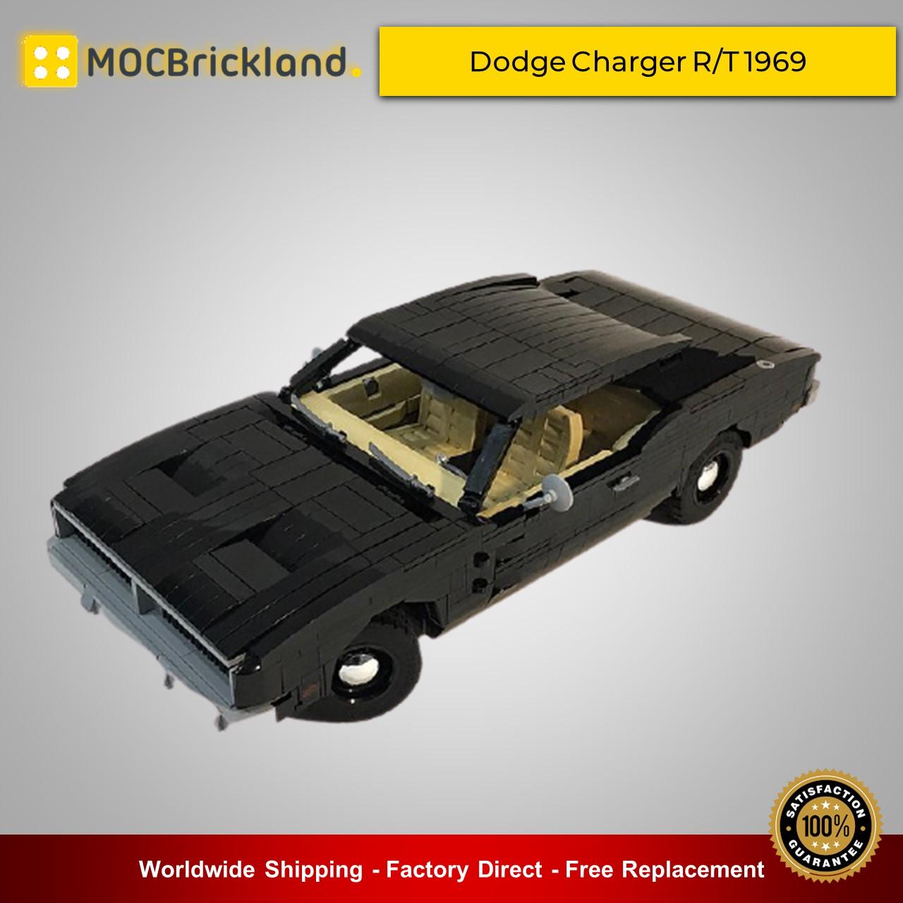 MOC-35555 Dodge Charger R//T 1969 1557 PCS Good Quality Bricks Building Blocks