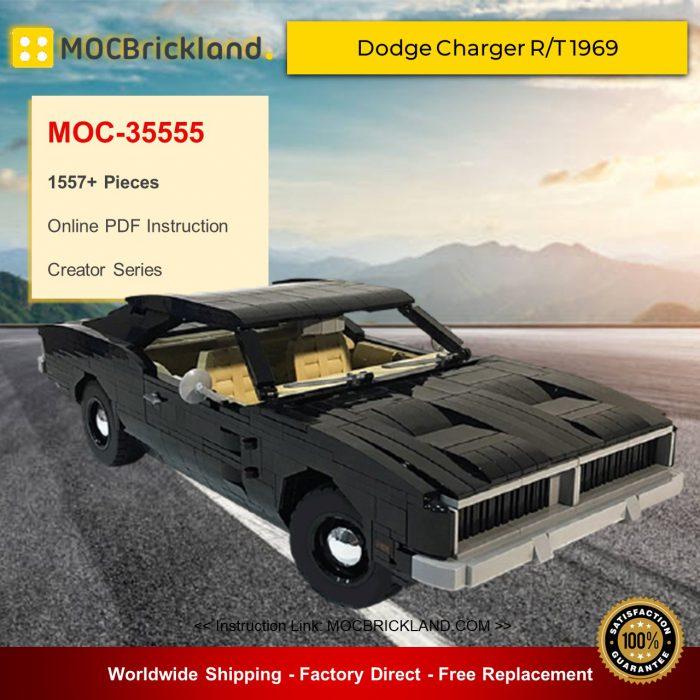 Creator MOC-35555 Dodge Charger R/T 1969 By TonyBovkoon MOCBRICKLAND