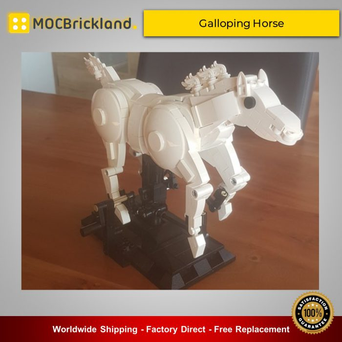 Creator expert moc-36232 galloping horse by jkbrickworks mocbrickland