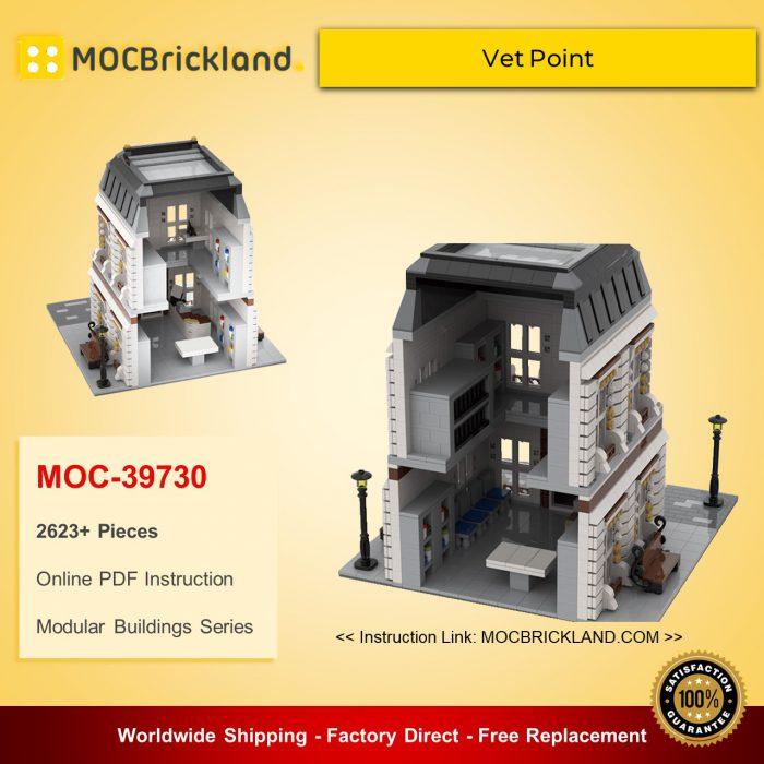 Modular Buildings MOC-39730 Vet Point By gabizon MOCBRICKLAND
