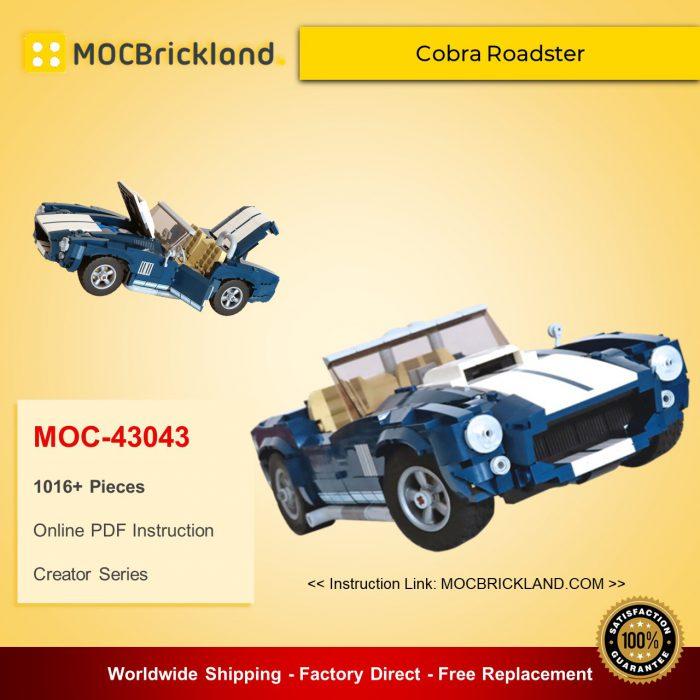 Creator MOC-43043 10265 Cobra Roadster By NKubate MOCBRICKLAND