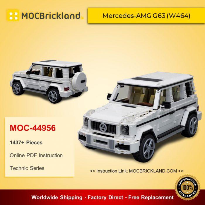 Technic moc-44956 mercedes-amg g63 (w464) by noahl mocbrickland