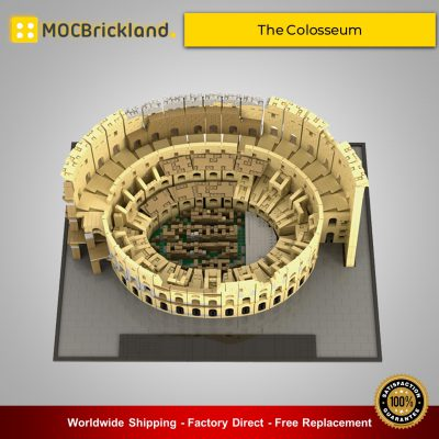 Architecture MOC-49020 The Colosseum By brickgloria MOCBRICKLAND