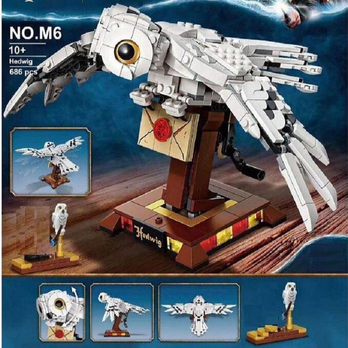 Movie wangao m6 hedwig compatible lego 75979