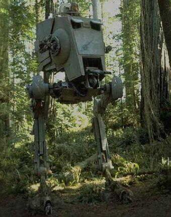 Star wars moc-27435 all terrain scout transport mocbrickland