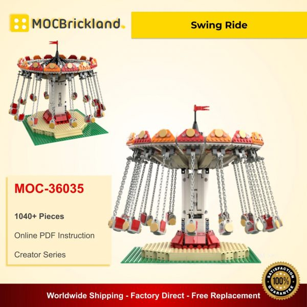 Creator moc-36035 swing ride by tkel86 mocbrickland