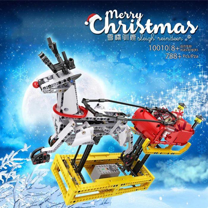Creator MOULDKING 10010 Christmas Santa Sleigh