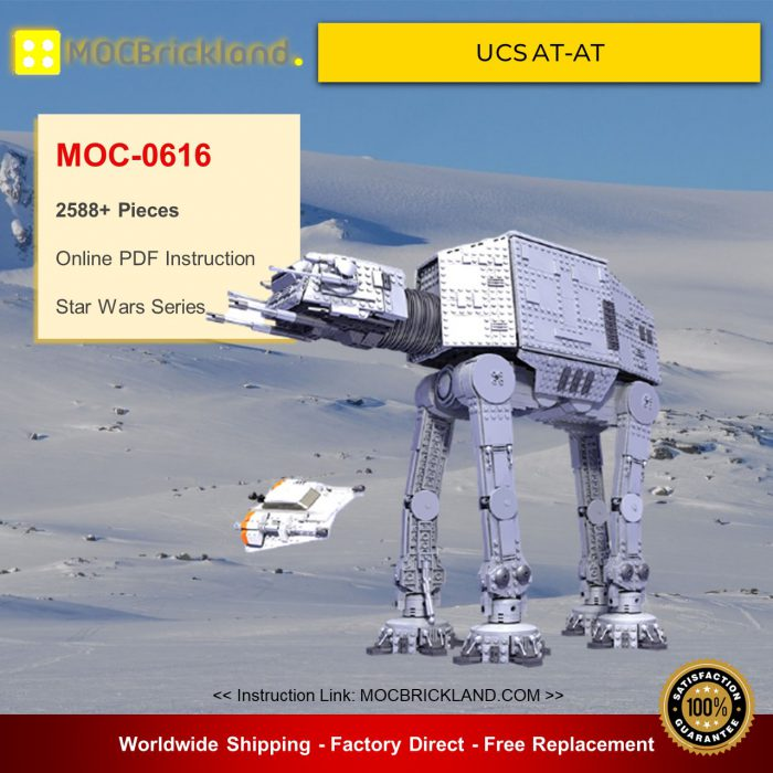 Star wars moc-0616 ucs at-at by aniomylone mocbrickland