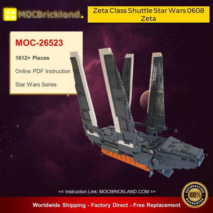 Star Wars MOC-26523 Zeta Class Shuttle Star Wars 0608 Zeta By renegade369 MOCBRICKLAND