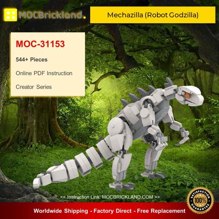 Creator moc-31153 mechazilla (robot godzilla) by legofolk mocbrickland