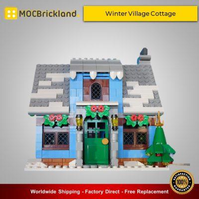 Christmas MOC-32797 Winter Village Cottage By Klaartje68 MOCBRICKLAND