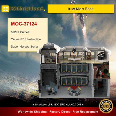 Super Heroes MOC-37124 Iron Man Base By beewiks MOCBRICKLAND