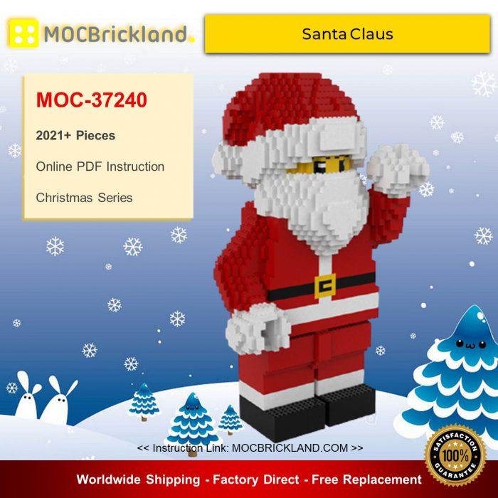 Christmas moc-37240 santa claus by dj brick mocbrickland