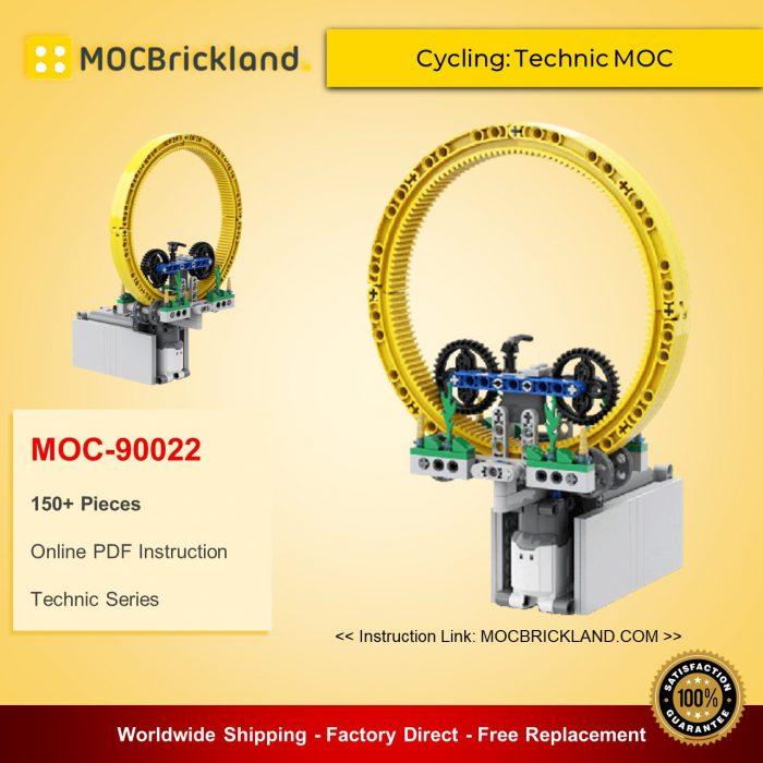 Technic moc-90022 cycling: technic moc mocbrickland