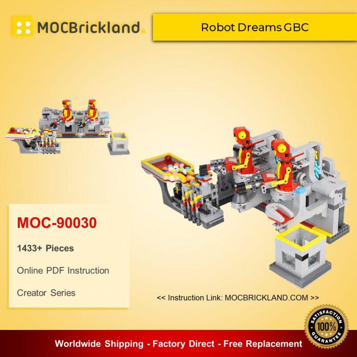 Creator MOC-90030 Robot Dreams GBC MOCBRICKLAND
