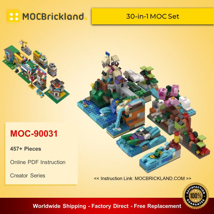 Creator MOC-90031 30-in-1 MOC Set MOCBRICKLAND