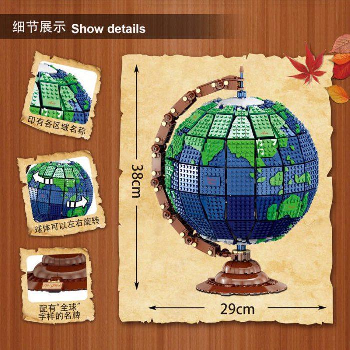 Creator MORK 031001 Earth Globe