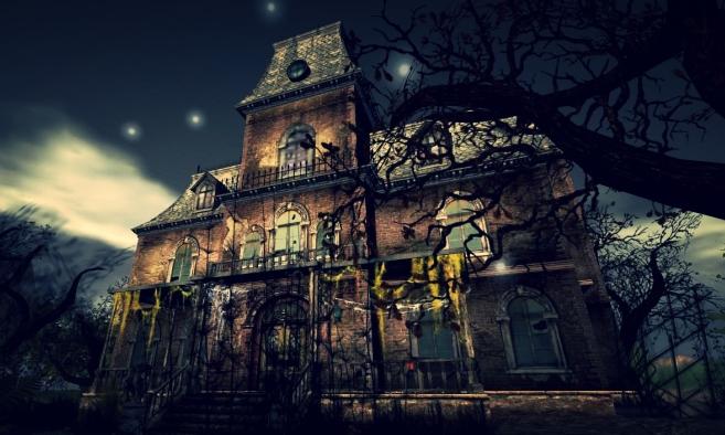 Movie MOC-54244 The Haunted Manor By ZeRadman MOCBRICKLAND