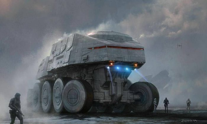 Star Wars MOC-0261 UCS Juggernaut-UCS By Aniomylone MOCBRICKLAND