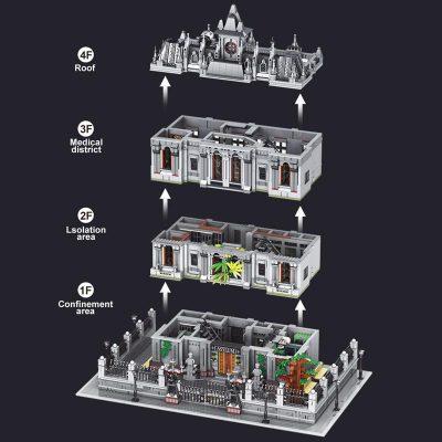 Modular Buildings 18K K128 Elizabeth Arkham Asylum