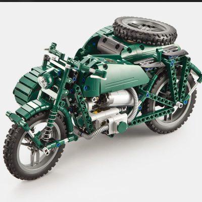 Military CADA C51021 World War II Army RC Motorcycle