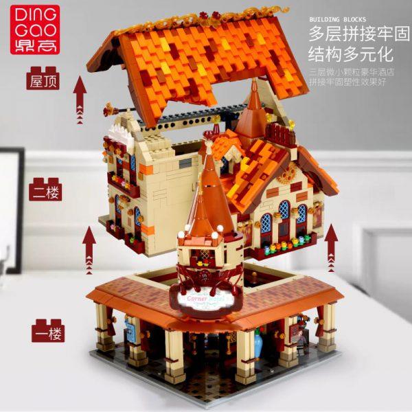 Modular Buildings DingGao 2003 Corner Hotel With Lights