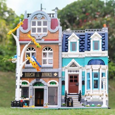 Modular Buildings KING 180155 Bookshop