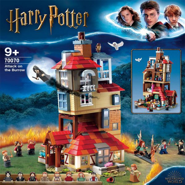 Movie LEJI 70070 Attack on The Burrow Compatible With LEGO 75980