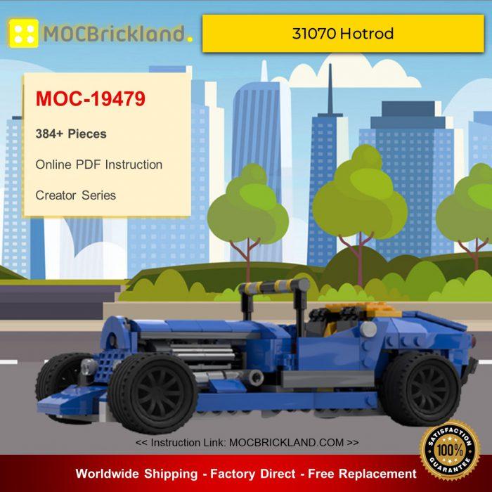 Creator MOC-19479 31070 Hotrod By muffinbrick MOCBRICKLAND
