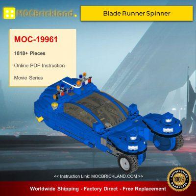 MOC-19961 Blade Runner Spinner