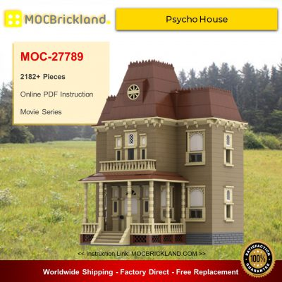 Movie MOC-27789 Psycho House By mkibs MOCBRICKLAND