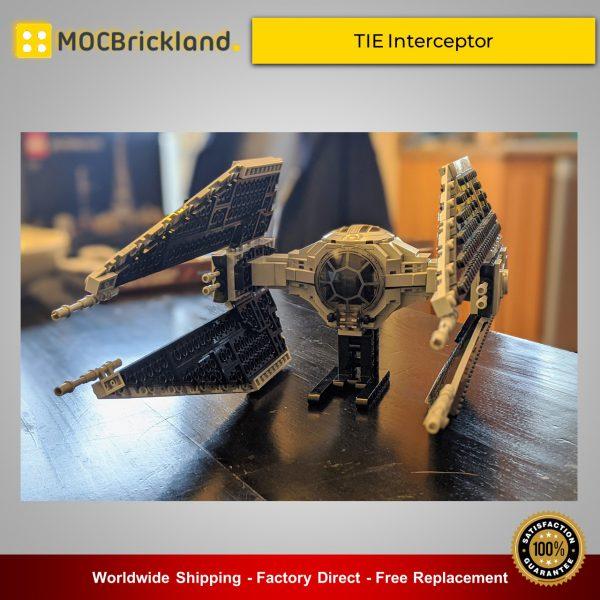 Star Wars MOC-32239 TIE Interceptor By Theoderic MOCBRICKLAND