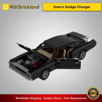 Technic MOC-38752 Dom's Dodge Charger By Jeka_Jackson MOCBRICKLAND