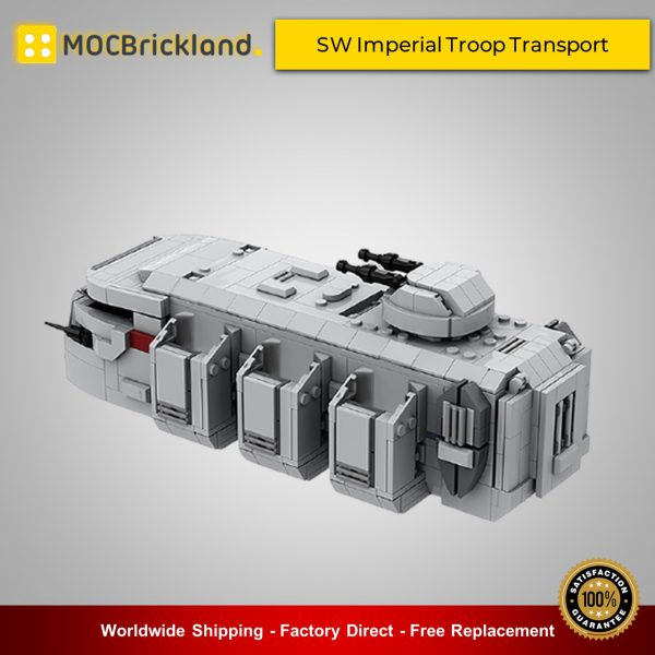 Star Wars MOC-38801 SW Imperial Troop Transport By EDGE OF BRICKS MOCBRICKLAND