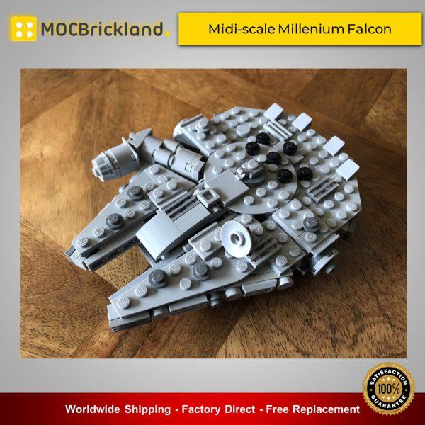 Star Wars MOC-44887 SW Midi-scale MilleStar Wars MOC-44887 SW Midi-scale Millenium Falcon By SserjayY MOCBRICKLANDnium Falcon By SserjayY MOCBRICKLAND