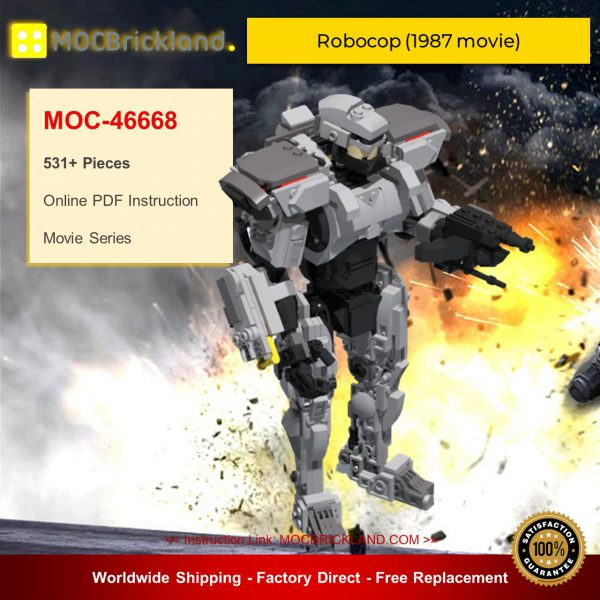 Movie MOC-46668 Robocop (1987 movie) By DoubleBU MOCBRICKLAND