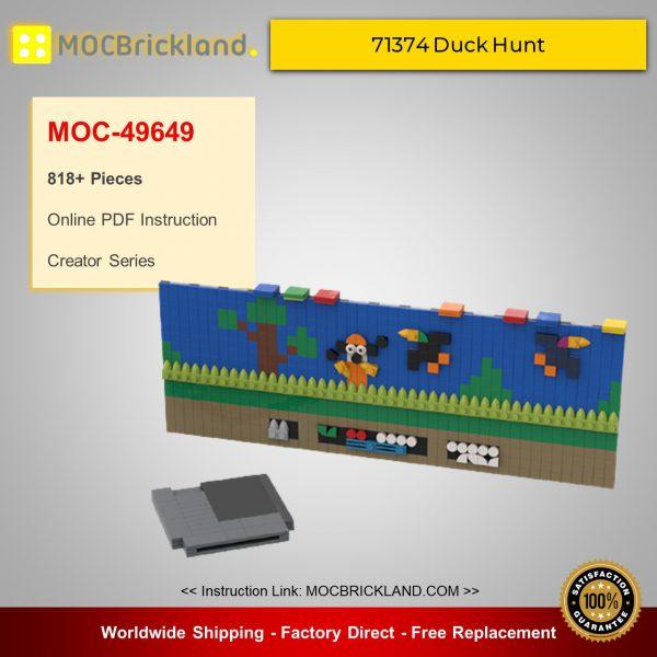 Creator MOC-49649 71374 Duck Hunt | Nintendo Entertainment System Alternative Build By BuildMaster MOCBRICKLAND