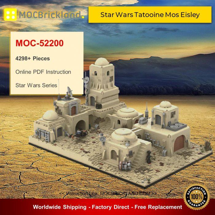 Star wars moc-52200 star wars tatooine mos eisley cantina #1 by mocopolis mocbrickland