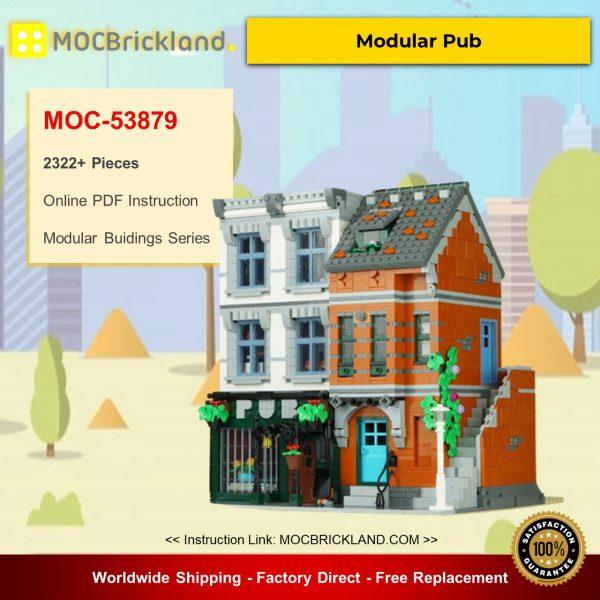 Modular Buidings MOC-53879 10264 – Modular Pub By Versteinert MOCBRICKLAND