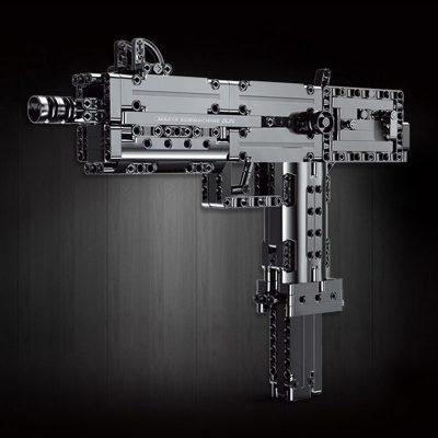Military MOULDKING 14012 American Ingram Mac-10 Submachine Gun