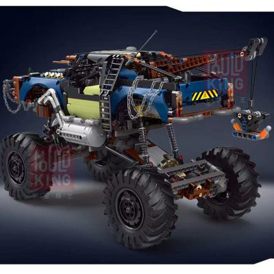 Technic MOULDKING 18005 Silver Flagship Off-Road